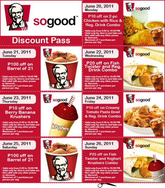 picture relating to Kfc Coupon Printable referred to as Kfc coupon 2018 printable / Coupon cvs fresh new prescription