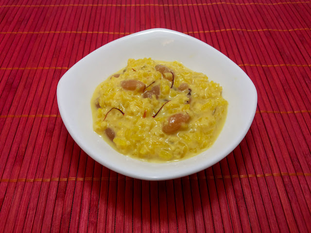 Rice Kesar Kheer Recipe