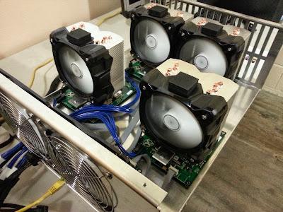 Petahash mining hardware
