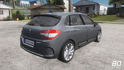 Download , Mod , Carro , Citroen C4 2012 para GTA San Andreas, GTA SA , JOGO PC