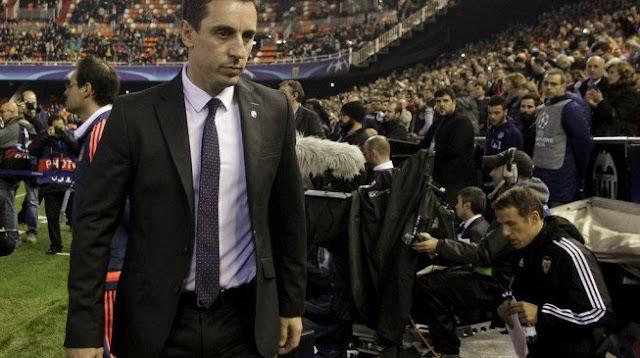 Valencia sack Gary Neville