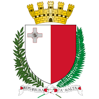 Logo Gambar Lambang Simbol Negara Malta PNG JPG ukuran 200 px