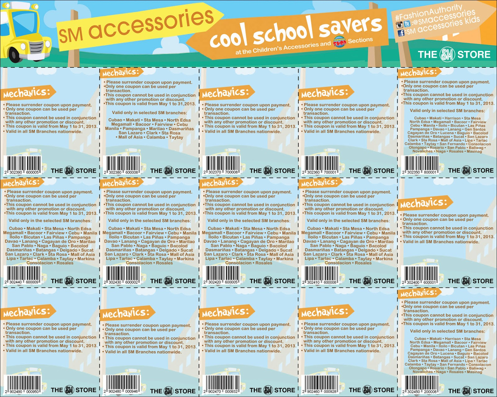 2377526e69eac Mommy Practicality: SM Accessories Kids Cool School Savers