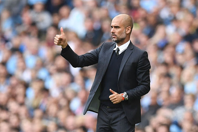 Guardiola, victorieux de Bournemouth 4-0