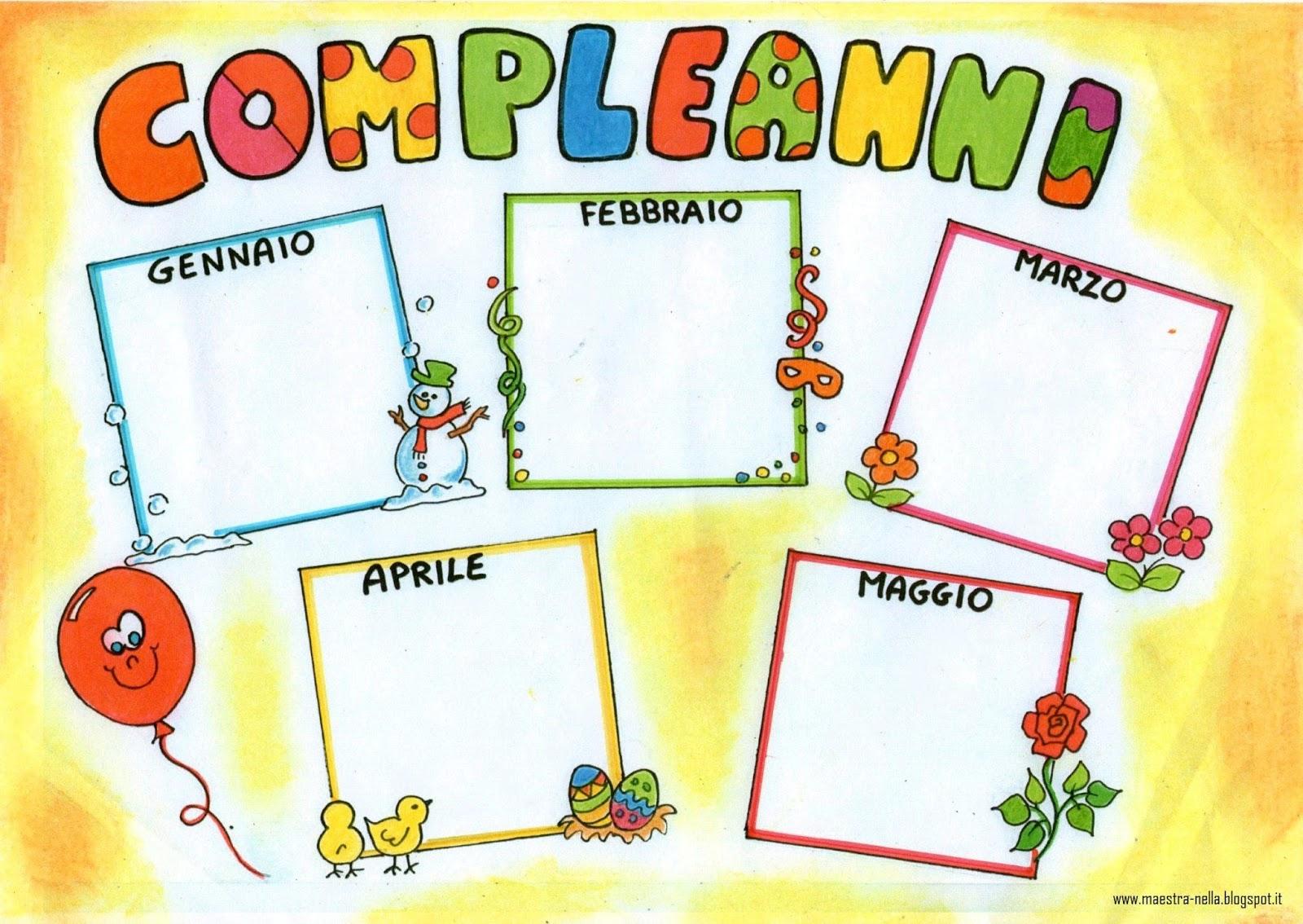 Lavoretti per compleanni fv25 regardsdefemmes for Idee per cartelloni scuola infanzia