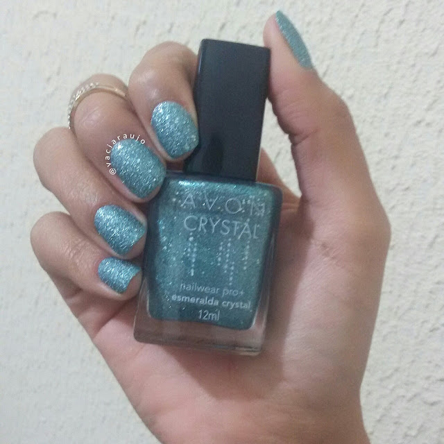 Esmalte Esmeralda Crystal Avon