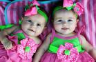 bayi kembar cewek lucu
