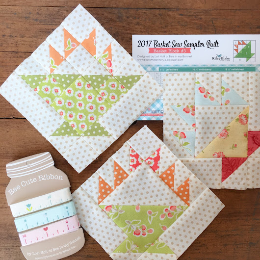 June Sew Sampler box from Fat Quarter Shop