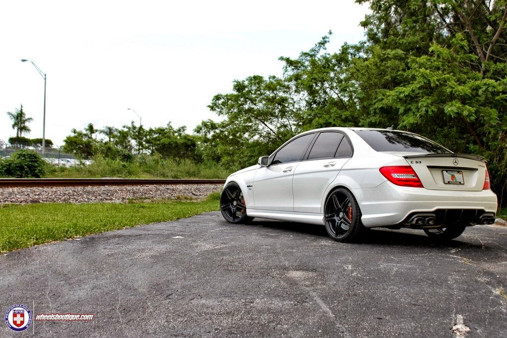 mercedes benz w204 c63 amg renntech on hre performance. Black Bedroom Furniture Sets. Home Design Ideas