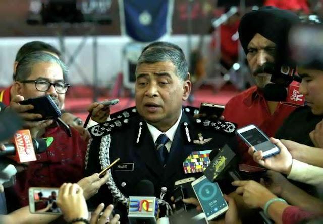 Polis Siasat Senjata Kimia Bolos Masuk Malaysia