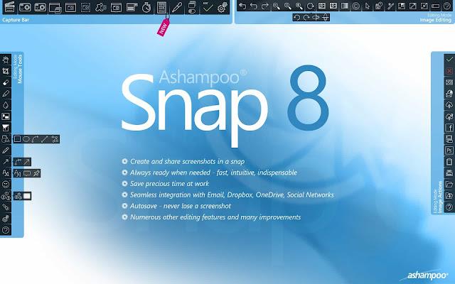 Ashampoo Snap 8 Crack