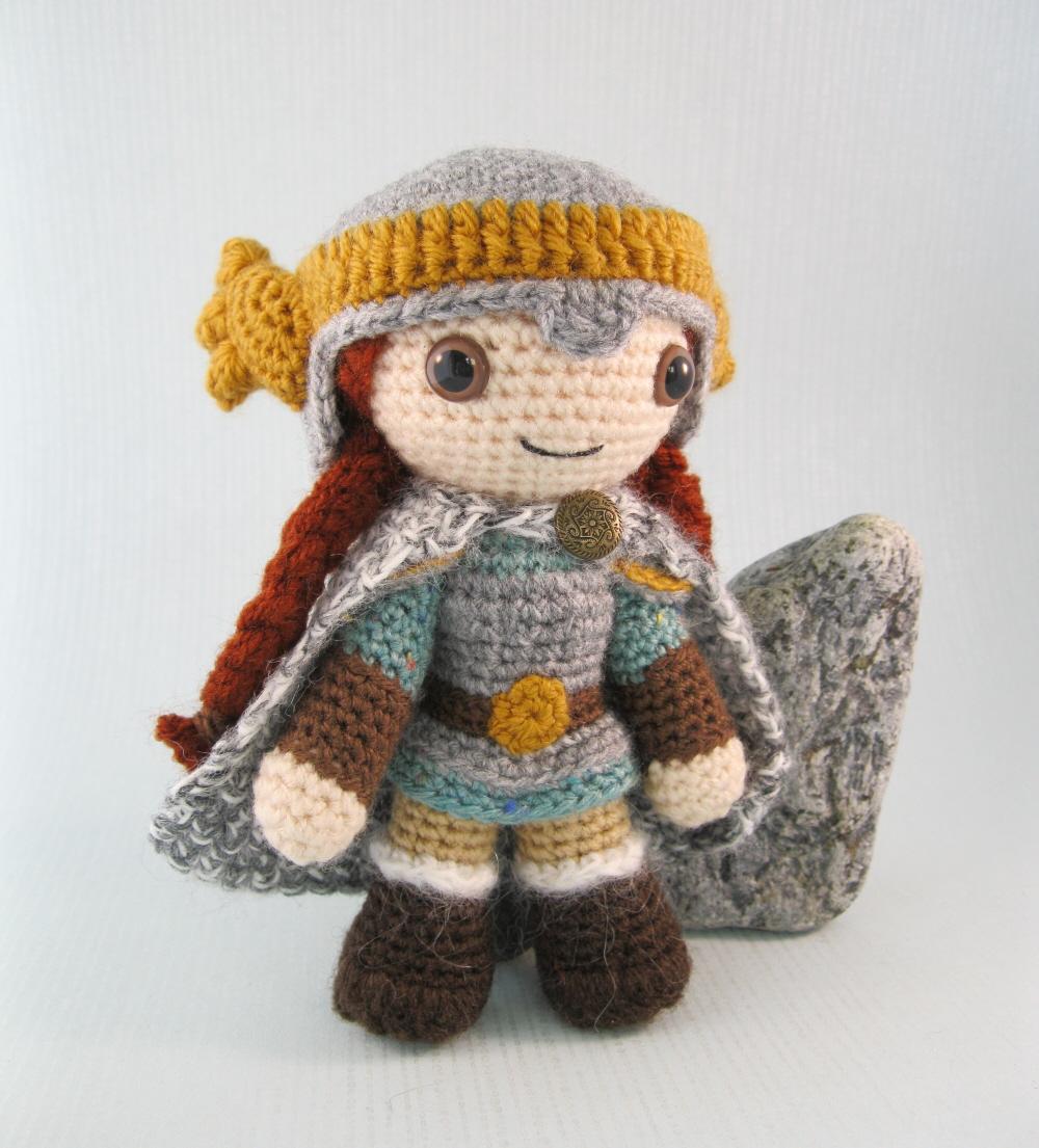 Lucyravenscar Crochet Creatures Dwarf Amigurumi Pattern