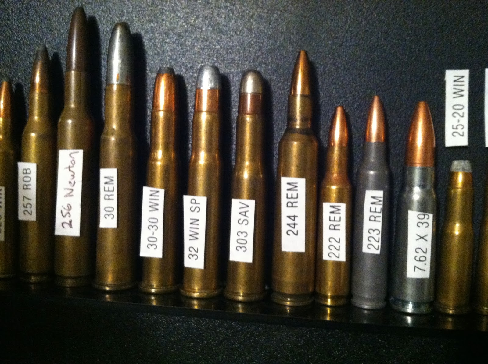 Ammo And Gun Collector Personal Ammo Collections