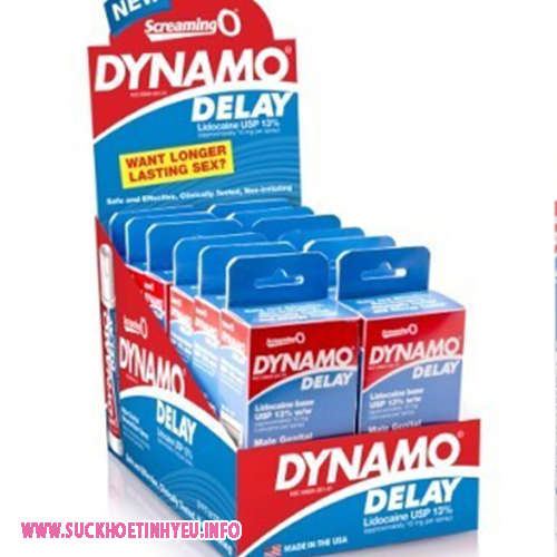 Thuốc Kéo Dài Thời Gian Quan Hệ Dạng Xịt Dynamo Delay USA