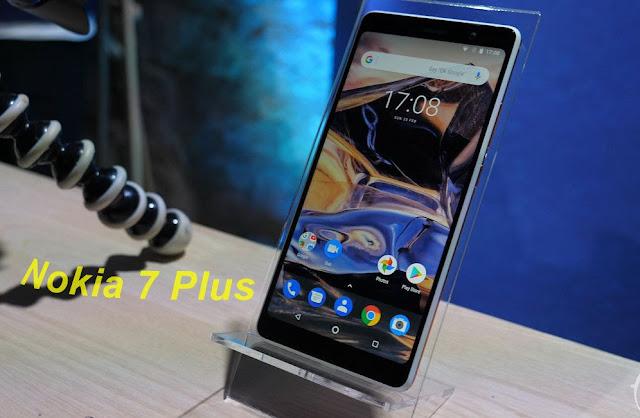 بطاقة تقنية لهاتف Nokia 7 Plus