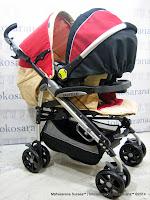 Kereta Bayi LightWeight BabyElle BS-S323 Polaris Travel System