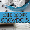 Double Chocolate Snowballs Cookies