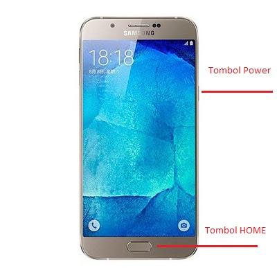 Cara screenshot Samsung Galaxy A9 Dalam Hitungan detik