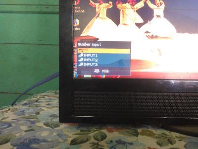 Jika sudah selesai dan ingin mencabut kabel atau menonton TV, Sobat tinggal Setting TV nya ke Mode TV dulu terus Sobat bisa langsung cabut kabelnya.