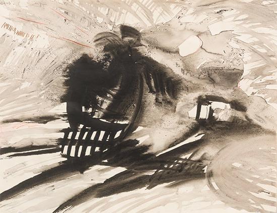 "drawing Raymond Pettibon Untitled (""America, what is...""), 2000"