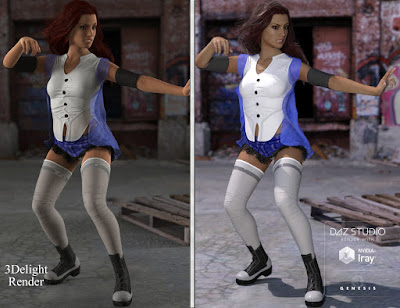 Unsung Heroine for Genesis 3 Female and Genesis 2 Female
