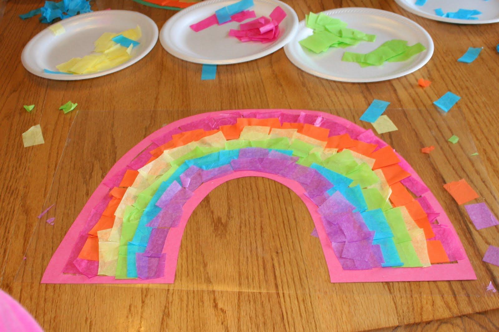 The Logan S Rainbow Craft Day