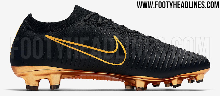 cheap for discount 38d12 7c564 Black / Laser Orange' Nike Flyknit Ultra Boots Released ...