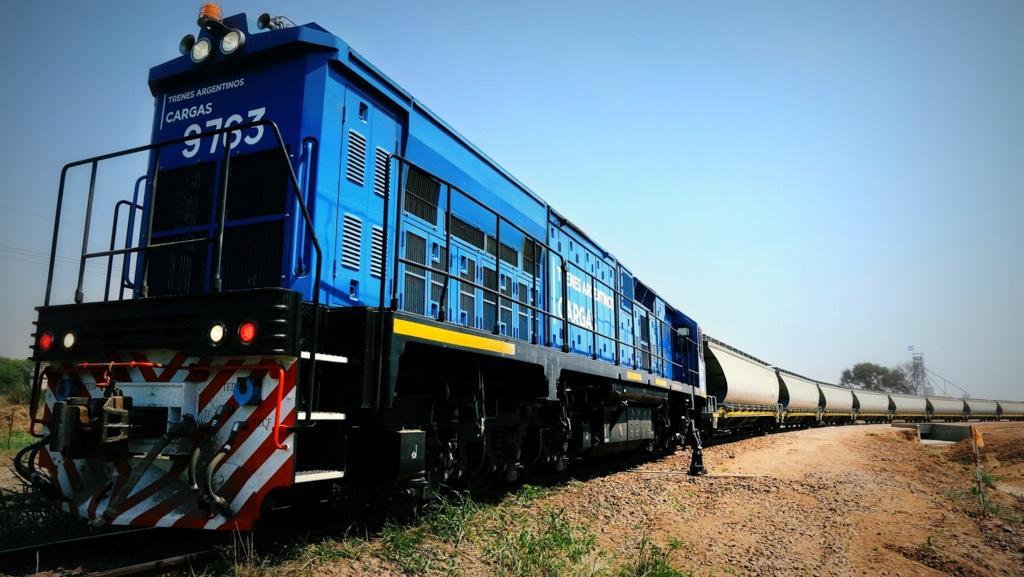 El volumen de transporte en el Belgrano Cargas creció un 26 por ciento