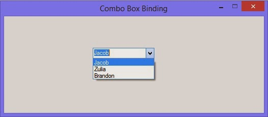 How to bind combobox with list of items: C# Windows forms