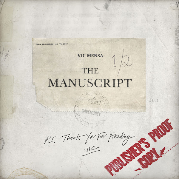 Vic Mensa - The Manuscript - EP Cover