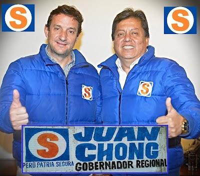 """LA """"S"""" DE CHONG CAMPANA ESTA ABRIENDO UNA NUEVA ESPERANZA EN TODA LA REGIÓN."""
