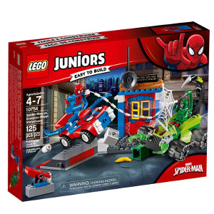 LEGO Juniors Disney Marvel Homem Aranha Vs Scorpion
