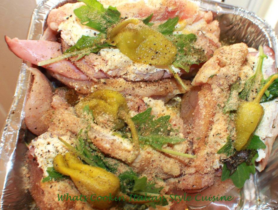 Stuffed Italian Style Chicken Recipe What S Cookin