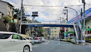 権太坂上の交差点