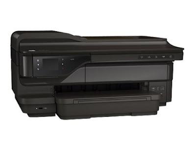Wireless Color Photo Printer amongst Scanner HP Officejet 7610 Driver Dơnloads
