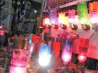 Lampu Hias dari Barang Bekas -  Tutup Lampu Tidur Dari Botol Bekas