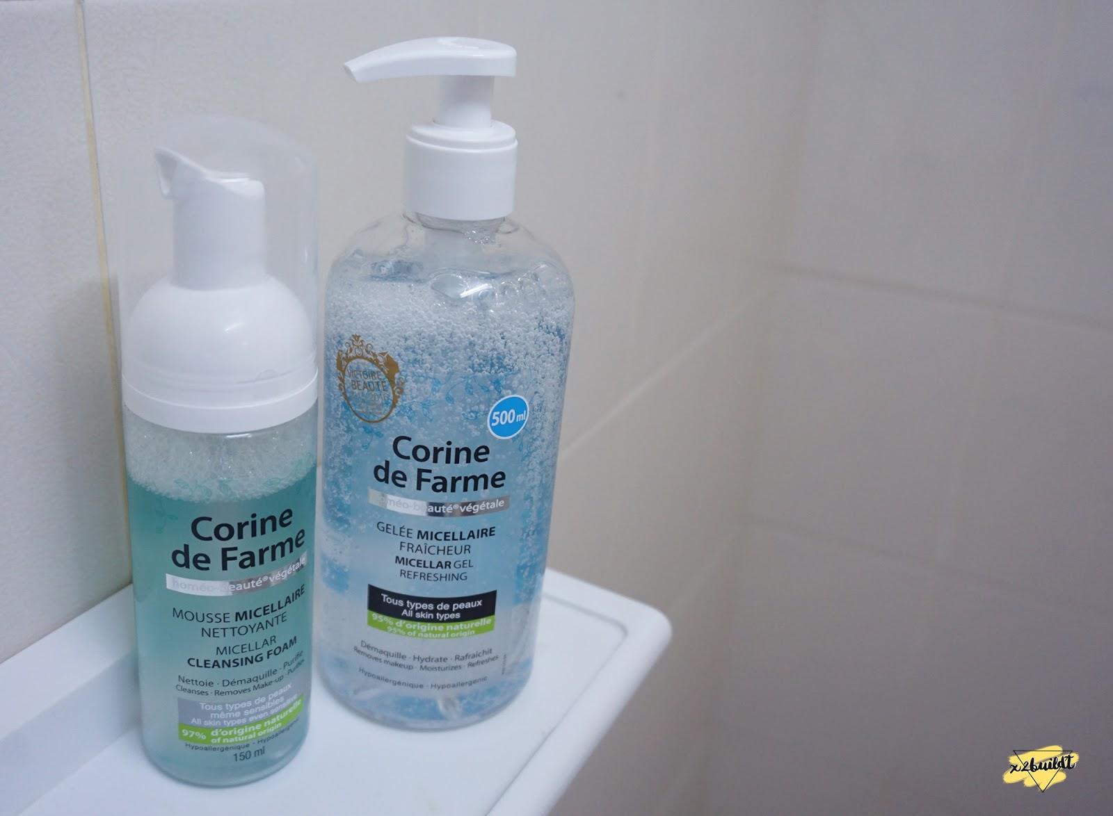 Corine De Farme Micellar Refreshing Gel Daftar Harga Terbaru Dan Bundling Mild Protecting 200 Ml Cleansing Foam