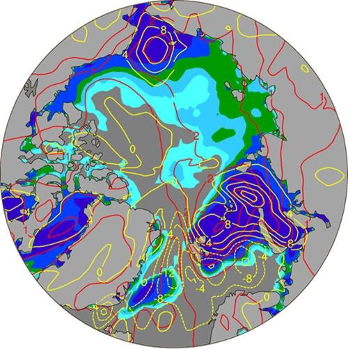 Atmospheric scientists reveal the effect of sea-ice loss on Arctic warming