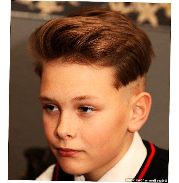 12 year boy hairstyles