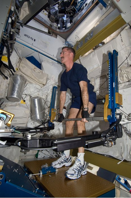 Suburban spaceman: NASA ISS Commander Burbank Exercises ...