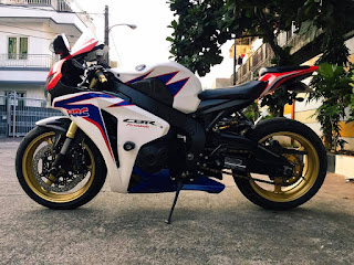 JURAGAN MOGE BEKAS : Dijual Honda CBR1000 Tahun 2010