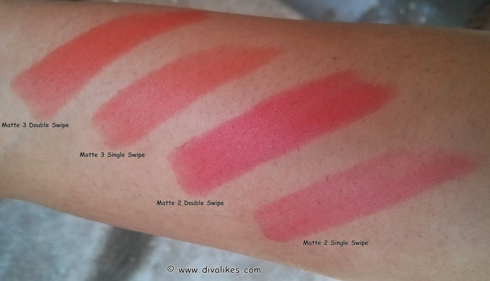 Maybelline Color Sensational Bold Matte Lipstick Mat 2 3 Lipstik Review Swatch Diva Likes