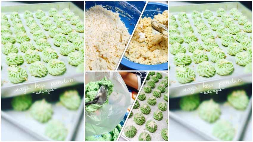 Resep Membuat Kue Sagu Keju Pandan