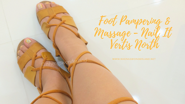 Foot Pampering & Massage - Nail It Vertis North