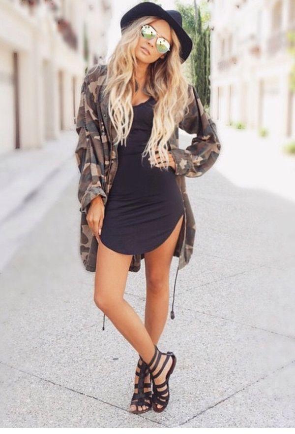 Outfits con vestidos