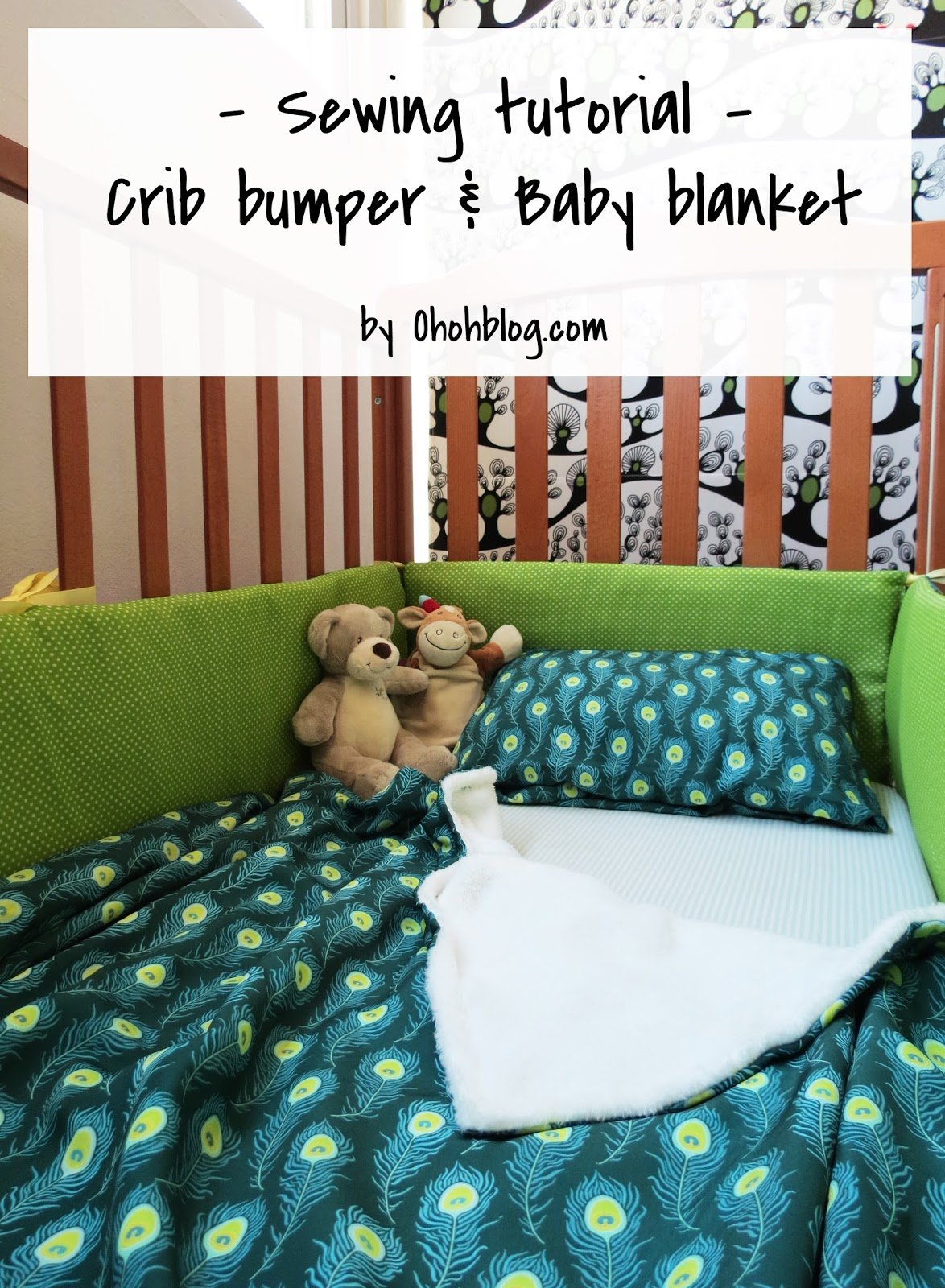Crib Bumper Diy How To Make