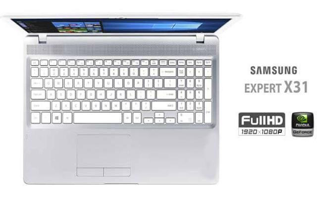 Notebook Samsung Expert X31 com tela full hd barato