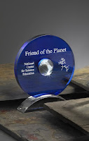 Friend of the Planet Award (Credit: ncse.com) Click to Enlarge.