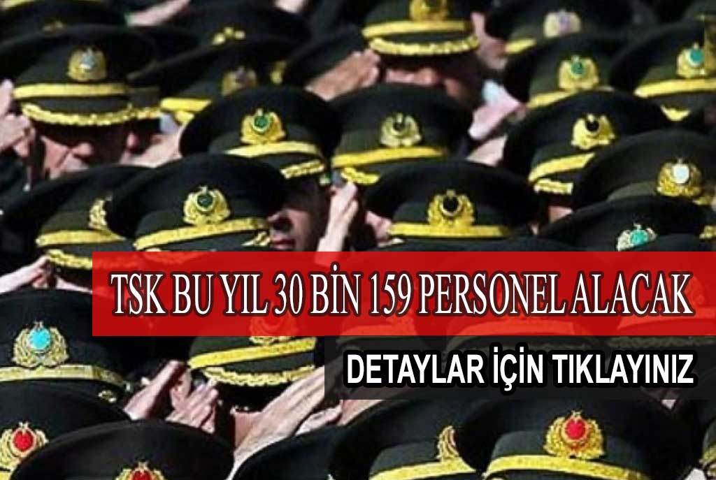 TSK Personel Alımı