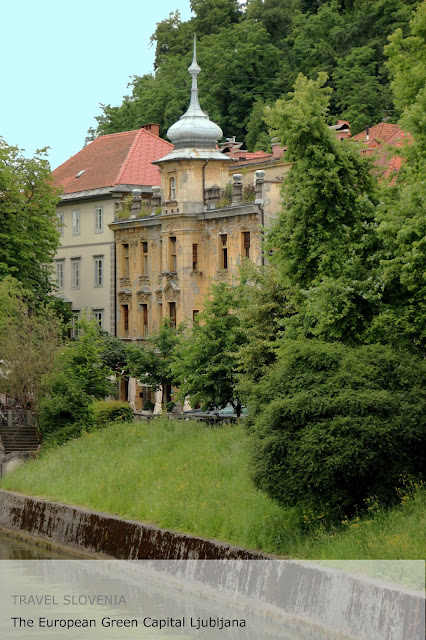 Travel Slovenia. The European Green Capital Ljubljana